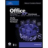 Microsoft Office XP - Introductory Concepts & Techniques (Workbook) (02) by Shelly, Gary B - Cashman, Thomas J - Walker, Tim J [Paperback (2001)] PDF