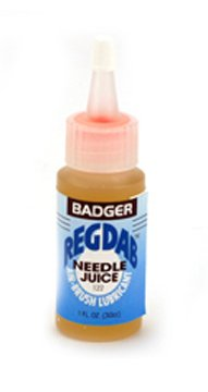 Badger REGDAB needle juice lubricant for airbrush maintenance air-brush. by ()