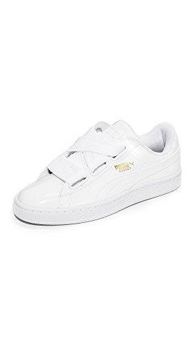 Fashion Puma Patent PUMA White Wn's Women's Basket Heart White Sneaker puma gw0xqRTXSx