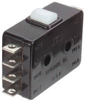 ITW SWITCHES 22-504 MICRO SWITCH, PIN PLUNGER, DPDT 10A 250V by ITW Switches
