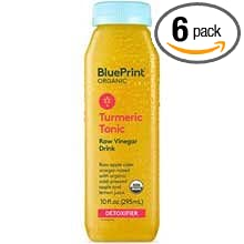 Amazon blueprint organic turmeric tonic raw vinegar drink blueprint organic turmeric tonic raw vinegar drink 10 ounce 6 per case malvernweather Gallery