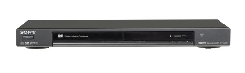 Sony DVP-NS77H/B 1080p Upscaling DVD Player with HDMI Output, Black by Sony