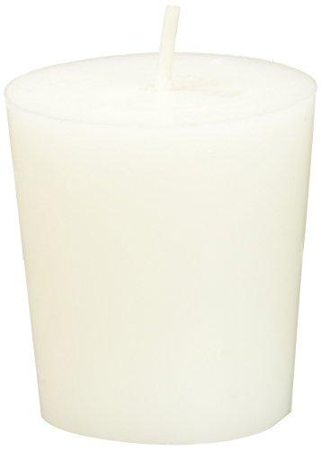 Zest Candle 12-Piece Votive Candles, White Citronella