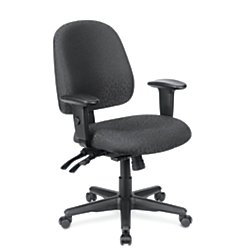 WorkPro 2000 Series Multifunction Fabric Mid-Back Chair