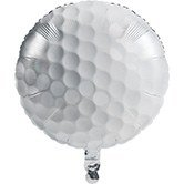Pack of 10 Sports Fanatic Golf Ball Shaped