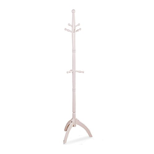 LQQGXLModern minimalist coat rack, Solid wood coat rack floor type Hanger home simple clothes rack bedroom coat rack (Color : 3#) by LQQGXL