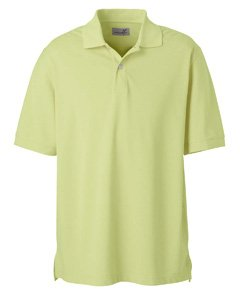 Men's Ashworth Classic Solid Pique Polo, Bamboo, 4XL