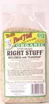 Bob's Red Mill Cereal Right Stuff with Flaxseeds, 24-ounces (Pack of4)