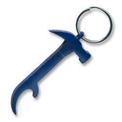 Hammer Keychain & Keyring - Bottle Opener