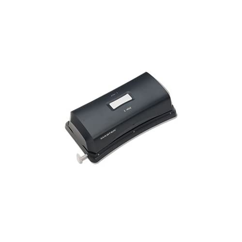 - 15-Sheet Duo Electric/Battery Punch, Two- and Three-Hole Fixed Position Sides