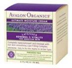 Avalon Organics: Lavande Crème Ultime Nuit d'humidité, 2 oz