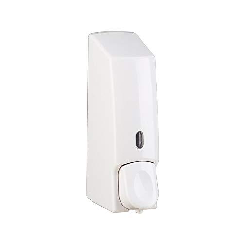 Cuutiik Shower Dispensers,Soap Dispenser Foaming Wall Mount Plastic for Hotel Home Bath Box Manual Press, White