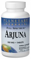 (Arjuna 550mg Full Spectrum Planetary Herbals 120 Tabs)