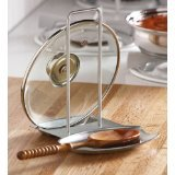 Collections Etc - Pot Lid Holder And Spoon Rest Combo By Collections Etc