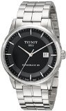 Tissot Men's T0864071105100 T classic powermatic Analog Display Swiss Quartz Silver Watch