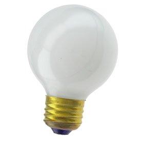 Replacement for 40G19/WH 40W G19 Globe White 125V Light ()
