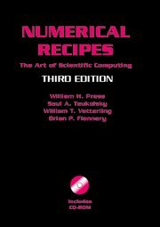 Numerical Recipes with Source Code CD-ROM 3rd Edition: The Art of Scientific Computing