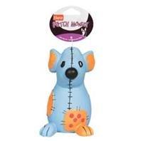 (Flexafoam dog toy Ja Patch Monkey - Large )