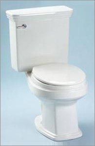 Promenade Round Toilet Bowl - Toto C423EFNo.51 Promenade Round Toilet Bowl, Ebony