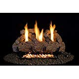 24-Inch Vent-Free Live Oak Log Set (LP Propane Gas)