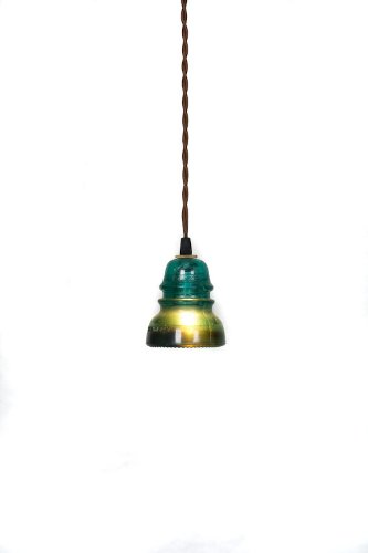 Pendant Light Green Wire - 6