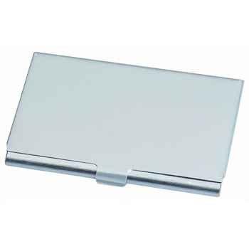 Amazon silver brushed aluminum business card holder ultra silver brushed aluminum business card holder ultra light weight colourmoves