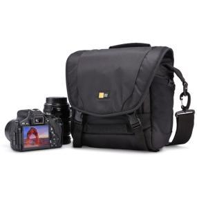 Case Logic DSM-101 Luminosity Small DSLR Messenger Bag with DSLR and lens