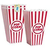 Plastic Popcorn Containers - Set of 2
