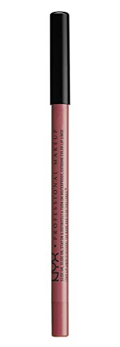 NYX PROFESSIONAL MAKEUP Slide On Lip Pencil - Bedrose, Soft Nude Pink With Mauve Undertone