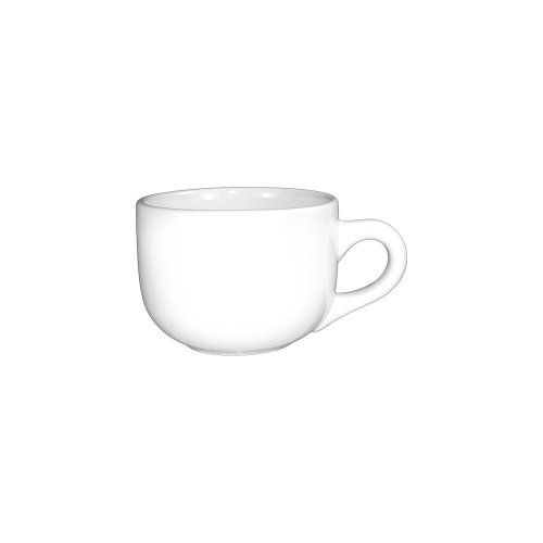 White 16 Oz Round Dish - ITI 822-02 24-Piece European Cancun Latte Cup, 16-Ounce, White