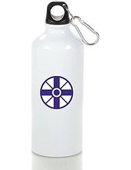 Church Of World Messianit Cool Aluminum Sports Water Bottle - 400/500/600ML 500ml (Personalized Lego Water Bottle)