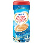 Coffee-mate Non-Dairy Creamer French Vanilla 15 OZ (Pack of 18)