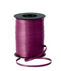 Burgundy Curling Ribbon 5 mm x 500 mtrs by Qualatex