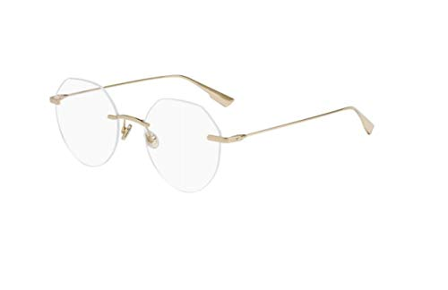Authentic Christian Dior Stellaireo 6 F 0DDB Gold Copper Eyeglasses
