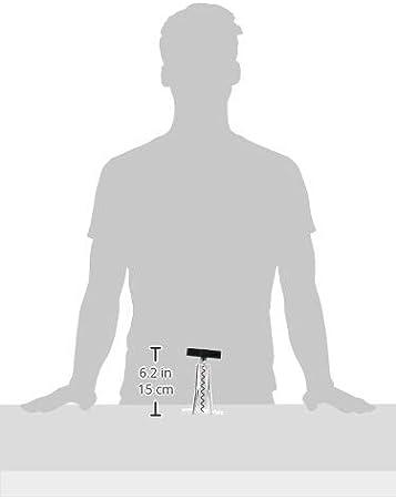 Bodum - K11724-01 - Melior - Juego de Barra de 5 Piezas - sacacorchos, Cortador de cápsulas, Tapa de Botella, vertedor, abrebotellas