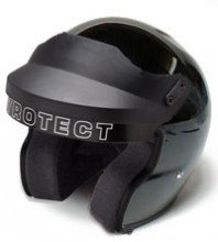 Pyrotect 9110995 Airflow SA2010 Open Face Helmet, X-Small, Black