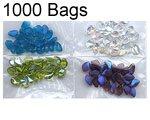 Saket Co. S1185 3x4 (.0015) Poly Pro, 1000 Bags