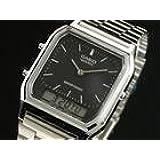 [カシオ] CASIO 腕時計 アナデジ デュアルタイム AQ230A-1 メンズ 海外モデル [逆輸入品]