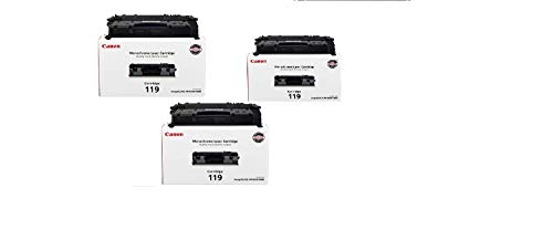 Canon Original 119 Toner Cartridge -3 pack- (High Capacity Black)