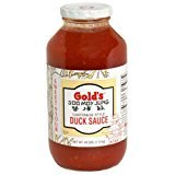 Gold's Duck Sauce, Sweet and Sour, Cantinese, 40-Ounce Glass Bottle (Pack of 6)
