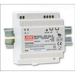 """Mean Well DR-60-12 AC to DC DIN-Rail Switching Power Supply, 12VDC, 4.5A, 54W, 3.1"""" x 3.7"""" x 2.2"""" Size"""