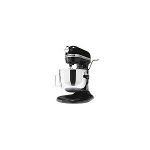 KitchenAid KG25H3X0B Onyx Black Professional HD Series Stand Mixer (Mixer Kitchen Professional Aid Hd)