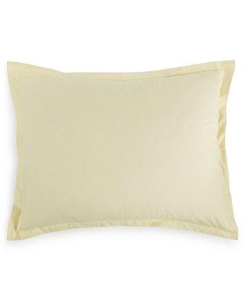 200 Thread Count Cotton Percale Martha Stewart Collection Standard Sham