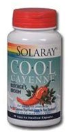 Solaray Cool Cayenne? with Butcher's Broom -- 90 Capsules - (Solaray Butchers Broom)