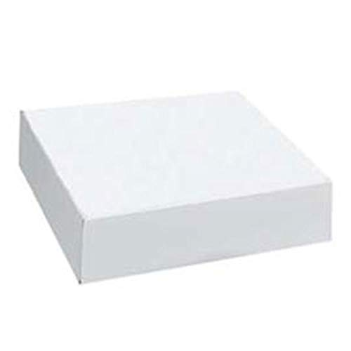 White Shirt Apparel Boxes - 19'' x 12'' x 3'' - Case of 50 by SSW Basics LLC