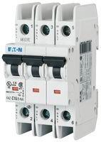 Eaton / Cutler Hammer FAZ-C20/3-NA Miniature Circuit Breaker 20 Amp 277/480 Volt AC 3-Pole DIN Rail Mount