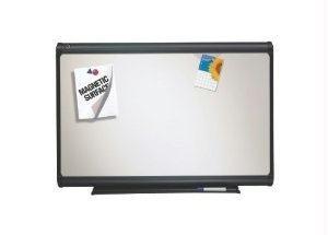 Quartet Premium Dry-Erase Board, Porcelain/Steel, 72 x 48, White/Gray Frame, EA - QRTP557G