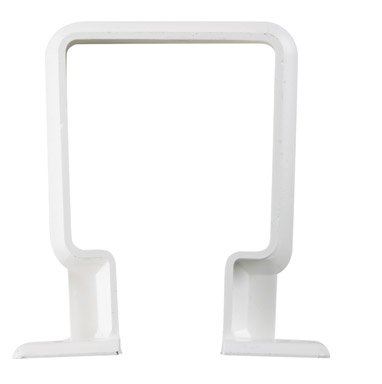 Raingo RW202 White Downspout Bracket - Raingo White Gutter