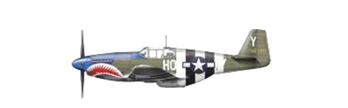 1/48 P-51B マスタング `ブルー・ノーズ・バスターズ` HA8504