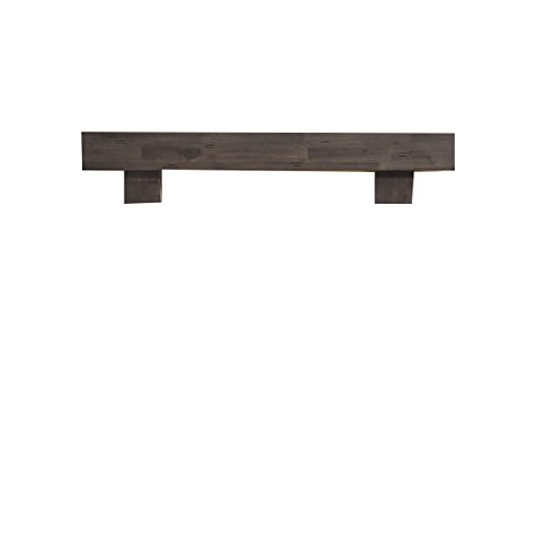 Avenger Duluth Forge 60-Inch Fireplace Shelf Mantel With Corbels - Antique Grey ()